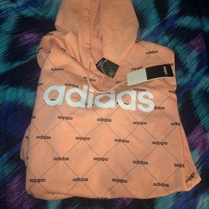 New Pink Adidas Hoodie